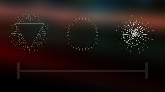 barna hátténen egyszerű ikonok, kör, háromszög, vonal